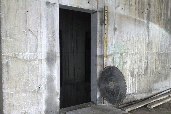 Проводим резку дверного проема в стенах из кирпича и бетона